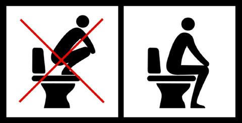 Toiletinstructie
